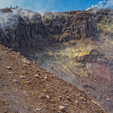 Escursione a Vulcano Isole Eolie crinale
